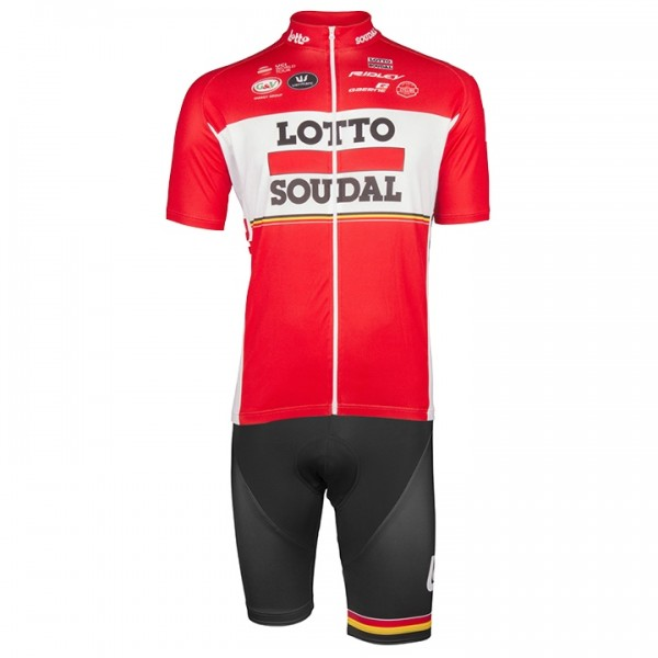 2017 Set LOTTO SOUDAL (2 Teile) - Profi-Radsport-Team