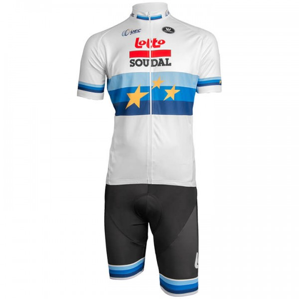 2019 Set LOTTO SOUDAL Europameister (2 Teile) - Profi-Radsport-Team
