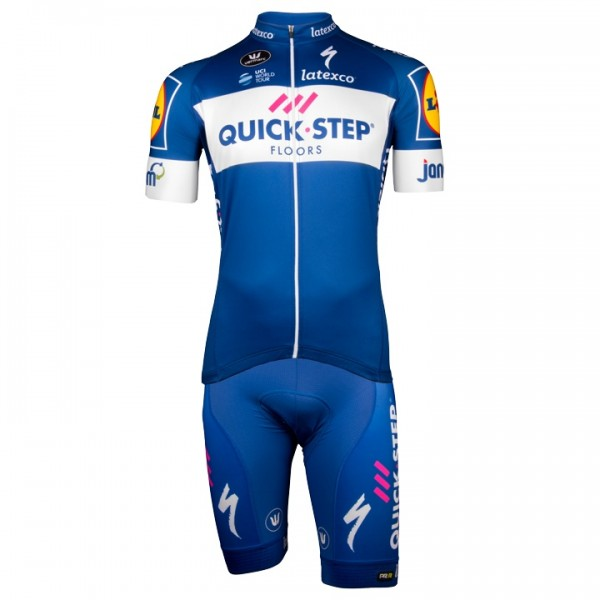 2018 Set QUICK - STEP FLOORS Aero (2 Teile) - Profi-Radsport-Team