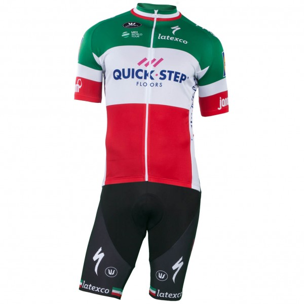 2018-2019 Set QUICK - STEP FLOORS Italienischer Meister - Profi-Radsport-Team