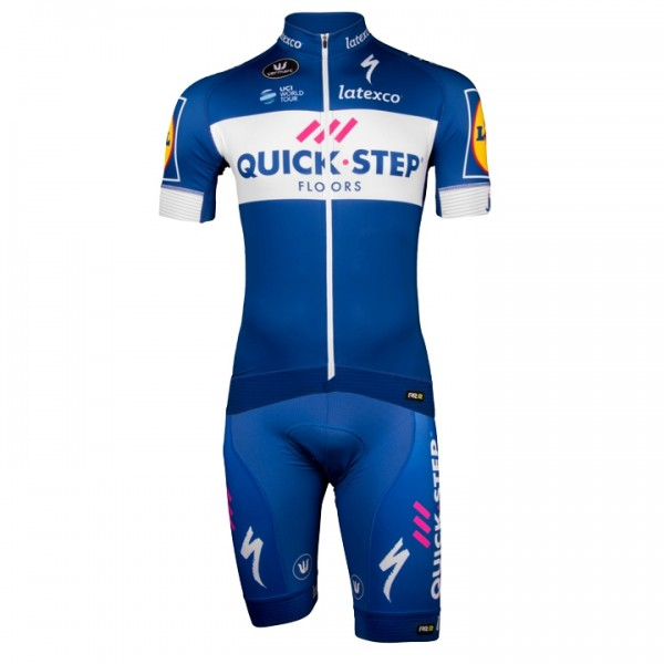 2018 Set QUICK - STEP FLOORS PRR (2 Teile) - Profi-Radsport-Team