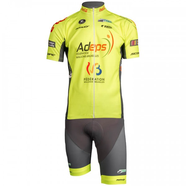 2019 Set WALLONIE-BRUXELLES (2 Teile) - Profi-Radsport-Team